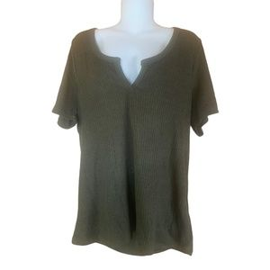 4/$25 🌸 Junior Forever 21 Olive Knit Top Size 3X